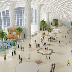 Airports by Tekeli-Sisa Mimarlık Ortaklığı
