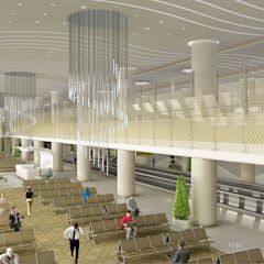 Aeroportos  por Tekeli-Sisa Mimarlık Ortaklığı