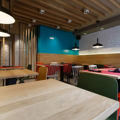 Restaurante: Bares y Clubs de estilo  de auno50 interiorismo