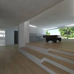 Quinta  das Azinheiras -  Turismo Rural: Salas multimédia  por Carlos Fazenda, arquitectos