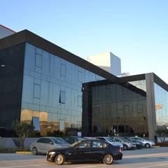 PETEK İNŞ.MİMARLIK DEKORASYON LTD.ŞTİ. – Rozak Makine Çelik Fabrikası:  tarz Ofis Alanları