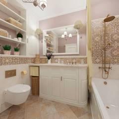 Романтика прованса: Ванные комнаты в . Автор – Белый Эскиз