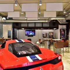 Exklusive und innovative Loft-Wohnung: industrialer Multimedia-Raum von raum in form