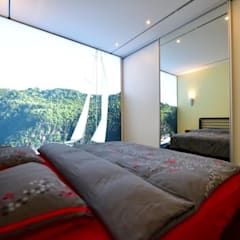 Exklusive und innovative Loft-Wohnung:  Schlafzimmer von raum in form