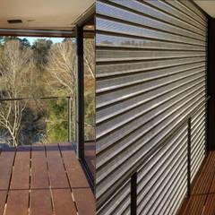 Casa Aity: Terrazas de estilo  por Arcubo arquitectos