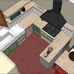PROYECTO - Cocina de Campo: Cocinas de estilo rural por PLATZ