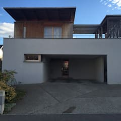 villa afp: Fenêtres de style  par A.FUKE-PRIGENT ARCHITECTE