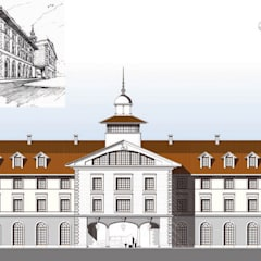 Hotel-Spa CENTRO ECUESTRE WIELGOPOLAN: Spa de estilo  de Bentabol y Rodrigo Arquitectos