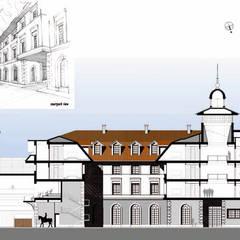 Hotel-Spa CENTRO ECUESTRE WIELGOPOLAN: Spa de estilo clásico de Bentabol y Rodrigo Arquitectos