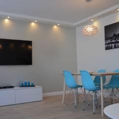 Mieszkanie pod krótkoterminowy wynajem Gdańsk Stare Miasto: styl , w kategorii Siłownia zaprojektowany przez Studio Projekt