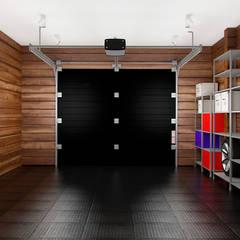 Гостевой домик с гаражом: Гаражи в . Автор – GM-interior