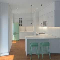 Kitchen by Lagom studio, Minimalist MDF