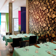 Fotografia - główna sala restauracyjna: styl , w kategorii Gastronomia zaprojektowany przez KOLORAMA