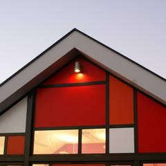 CONSTRUCTION DE L'ECOLE MATERNELLE ET D'UN RESTAURANT SCOLAIRE A HUDIMESNIL: Ecoles de style  par Camélia Alex-Letenneur Architecture Design Paysage