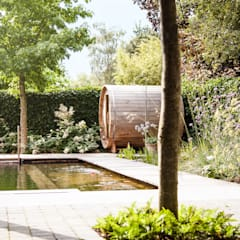 Jardines de estilo  por Studio REDD exclusieve tuinen