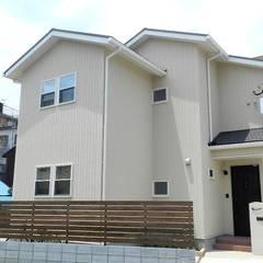 『 すっきり北欧スタイルのすまい 』:  Live Sumai - アズ・コンストラクション -が手掛けた家です。