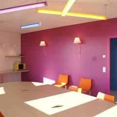 Pôle de santé à Lessay , Manche: Cliniques de style  par Camélia Alex-Letenneur Architecture Design Paysage