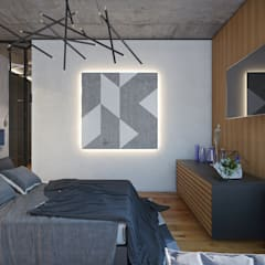 Контейнер в интерьере. Лофт: Спальни в . Автор – Art-i-Chok