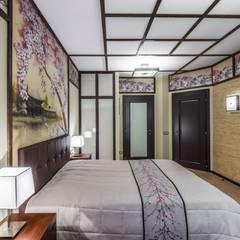 Квартира на ул. Есенина: Спальни в . Автор – Belimov-Gushchin Andrey, Азиатский
