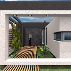 Casa Boedo: Ventanas de estilo  por Bonomo&Crespo Arquitectura