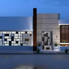 Casa Habitación VG: Casas de estilo  por RJ Arquitectos