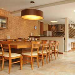 اتاق غذاخوری by Martins Valente Arquitetura e Interiores