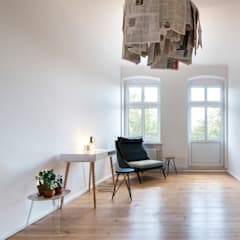 Fontane:  Arbeitszimmer von Birgit Glatzel Architektin