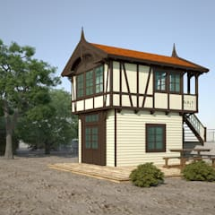 Домик на побережье Балтийского моря: Бары и клубы в . Автор – Smolski Design