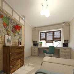 Blue inspiration: Детские комнаты в . Автор – INGAART