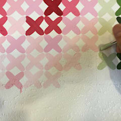 Agriturismo - decorazione a punto croce: Sedi per eventi in stile  di Giorgio Terranova