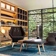 Hotel Click Clack : Hoteles de estilo  por ODA - Oficina de Diseño y Arquitectura, Ecléctico