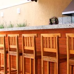 Restaurantes de estilo  por Alkaa Arquitetos Associados