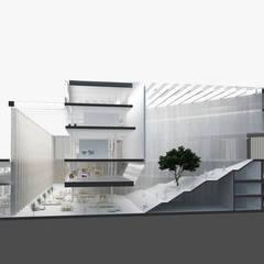 ARCHI OPENSPACE: styl , w kategorii Szkoły zaprojektowany przez PROSTO architekci