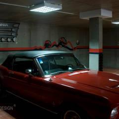 Casa - Freedom: Garagens e arrecadações  por Oficina Design