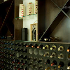 Ruang Penyimpanan Wine by Oficina Design