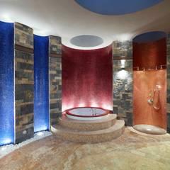 Pimodek Mimari Tasarım - Uygulama – Çamlıca'da Villa:  tarz Spa