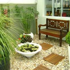 حديقة تنفيذ MC3 Arquitetura . Paisagismo . Interiores,