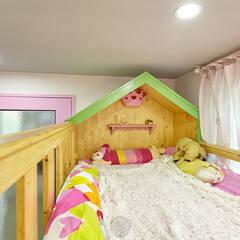 이층침대: 제이앤예림design의  아이방