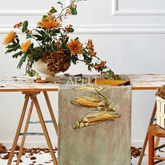 Maiskolben Tischläufer:  Terrasse von APELT STOFFE