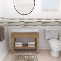 scandinavian Bathroom by Bhavana