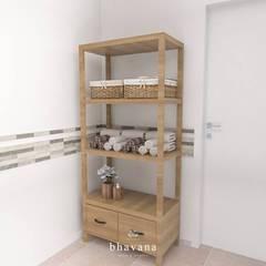 Toilette: Baños de estilo  por Bhavana