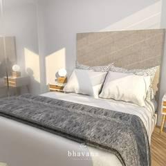 Dormitorio Principal: Dormitorios de estilo  por Bhavana