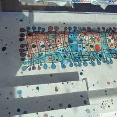 Camdal – Gündogan / küçükbük Terrazzo zemin çalışması:  tarz Koridor ve Hol