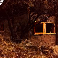 CASA DE LA COLINA Puertas y ventanas rurales de bioma arquitectos asociados Rural Madera Acabado en madera