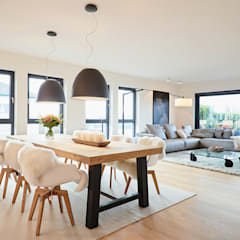 Penthouse:  Esszimmer von HONEYandSPICE innenarchitektur + design,