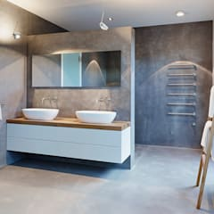 penthouse badezimmer von honeyandspice innenarchitektur design