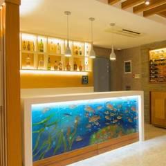 Projekty,  Piwnica win zaprojektowane przez Camdal