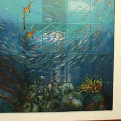 Camdal – Cam Deniz Dibi Çalışmaları / Bodrium Otel / Manastır Otel  Diger Örnekler:  tarz Koridor ve Hol