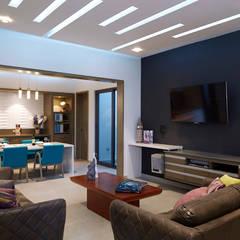 Media room by arketipo-taller de arquitectura