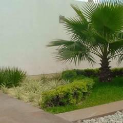 Jardín junto a bar: Jardines de estilo minimalista por EcoEntorno Paisajismo Urbano